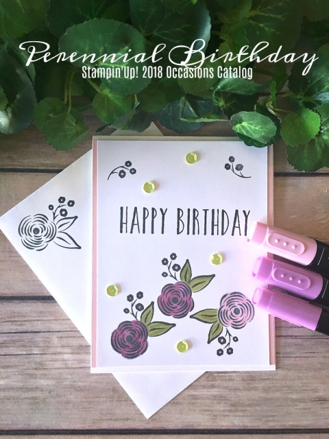 Stampin' Up! Perennial Birthday - Prettypapercards - stampinup