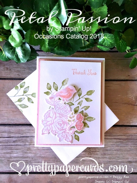 _Stampin' Up! Petal Passion Bird Thank Up Card - Peggy Noe - stampinup .jpg