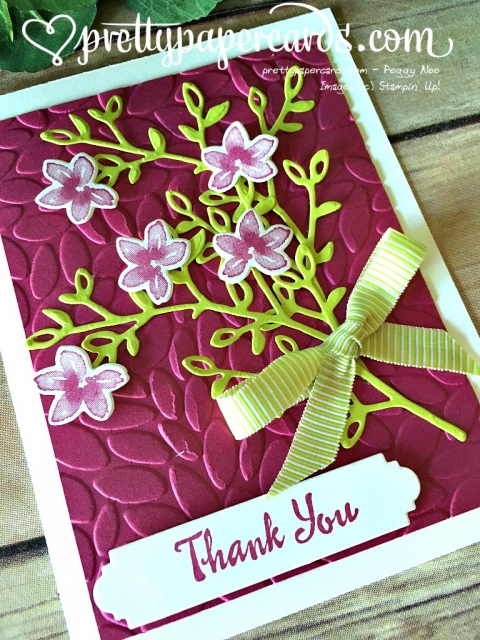 Stampin' Up! Petal Passion - Peggy Noe - stampinup