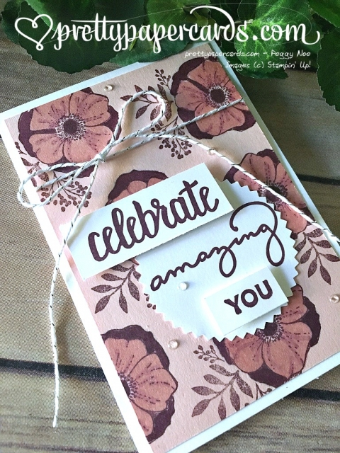 Stampin' Up! Saleabration 2018 Amazing You - Peggy Noe - stampinup