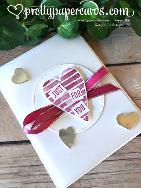 Stampin' Up! Sure Do Love You - Prettypapercards - stampinup