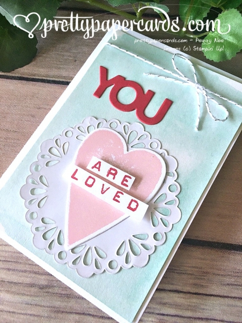 Stampin' Up! Blog Hop Celebrate You Thinlits - Peggy Noe - stampinup