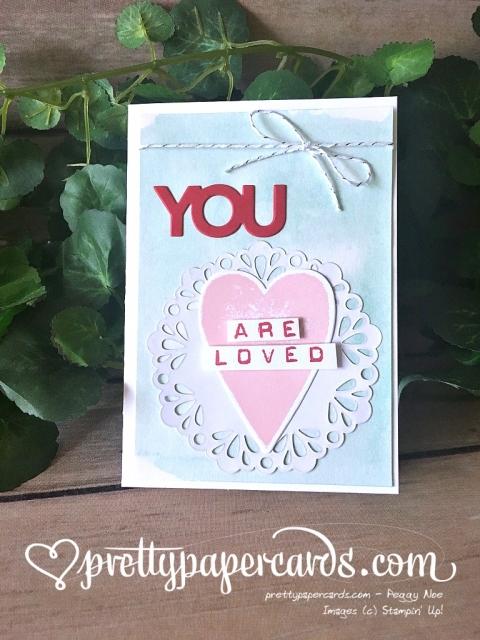 Stampin' Up! Blog Hop Valentine - Peggy Noe - stampinup