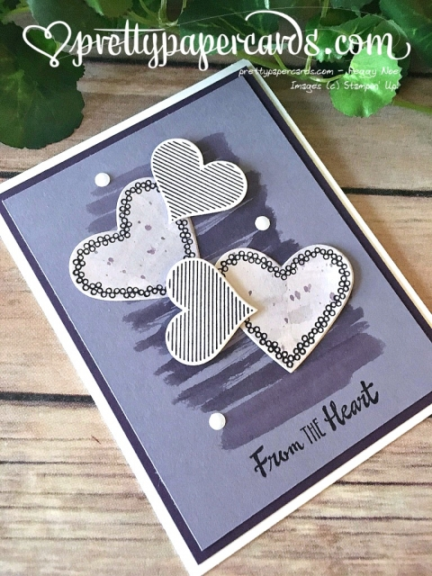 Stampin' Up! Heart Happiness - Prettypapercards - stampinup