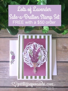 Stampin' Up! Lots of Lavender card - Peggy Noe - stampinup