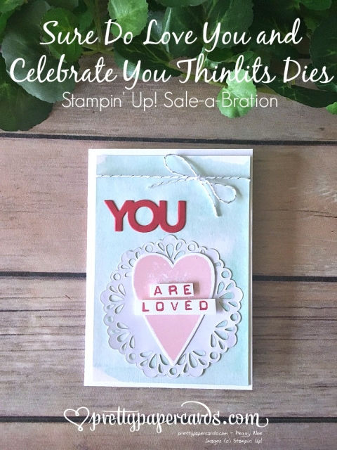 Stampin' Up! Pals Blog Hop Celebrate You - Prettypapercards - stampinup
