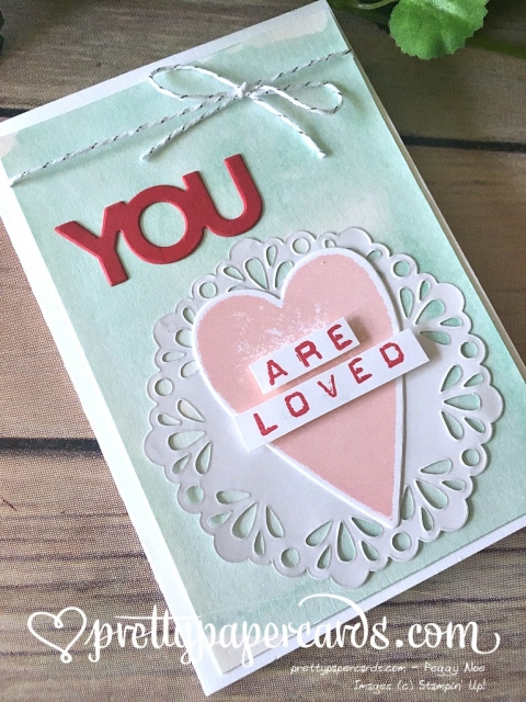 Stampin' Up! Pals Blog Hop Valentine - Prettypapercards - stampinup