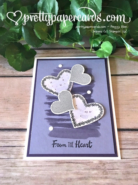 Stampin' Up! Purple Valentine - Prettypapercards - stampinup