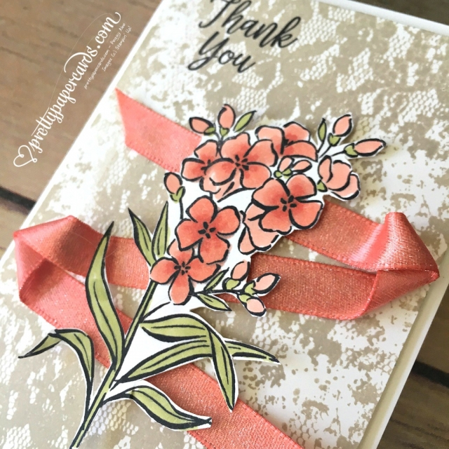 Stampin' Up! Southern Serenade Calypso Coral - Peggy Noe - stampinup
