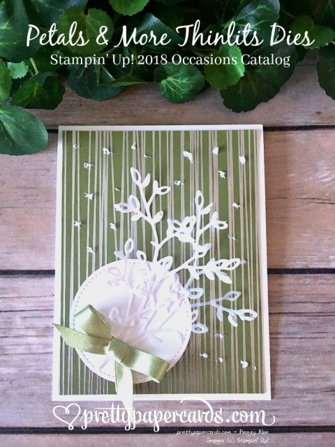 Stampin' Up! Tic Tac Toe Challenge Petals & More - Peggy Noe - stampinup