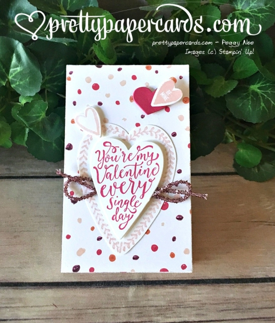Stampin' Up! Valentine Box - Peggy Noe - stampinup
