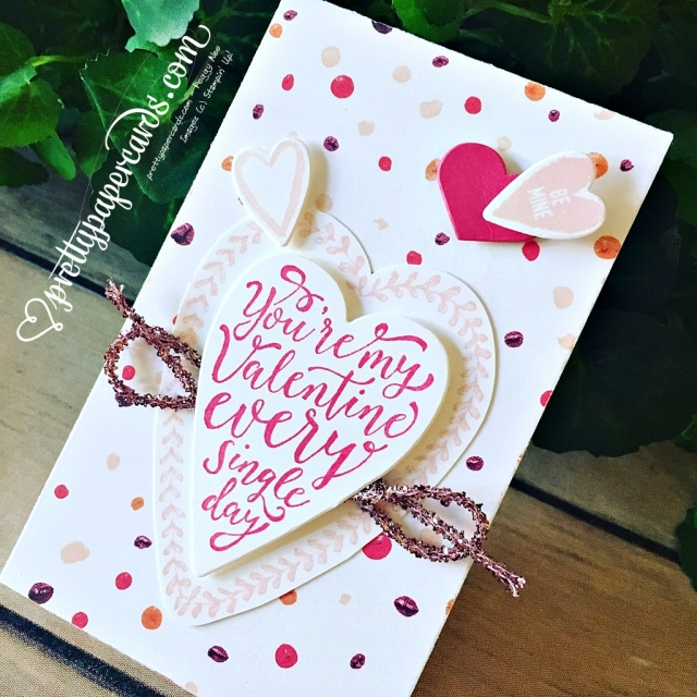 Stampin' Up! Valentine Box - prettypapercards - stampinup
