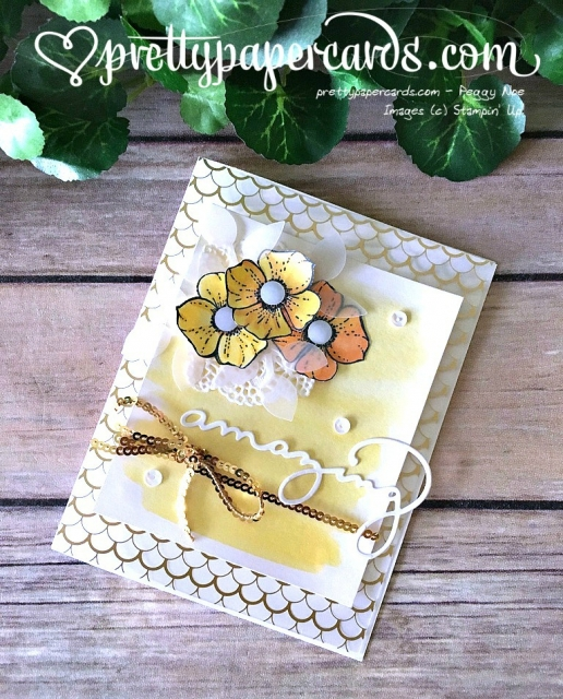 Stampin' Up! - Amazing Card - Peggy Noe - stampinup