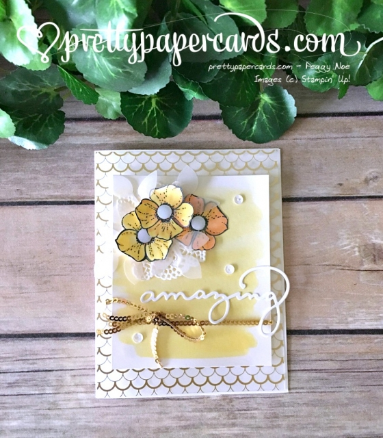 Stampin' Up! Amazing You Special Card - Peggy Noe - stampinup