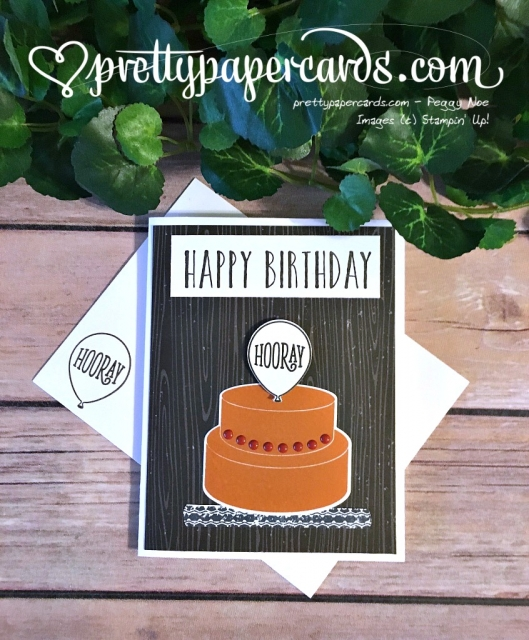 Stampin' Up! Birthday Card - Peggy Noe - stampinup