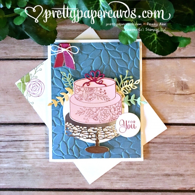 Stampin' Up! Cake Soiree Bundle Card - Prettypapercards - stampinup