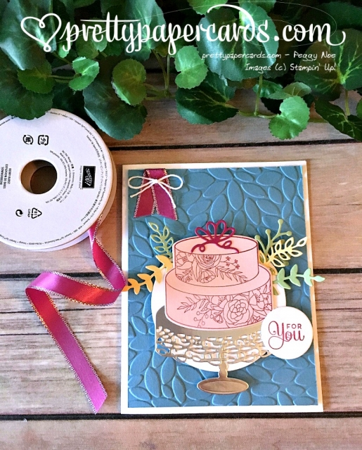 Stampin' Up! Cake Soiree Happy Birthday Card - Peggy Noe - stampinup