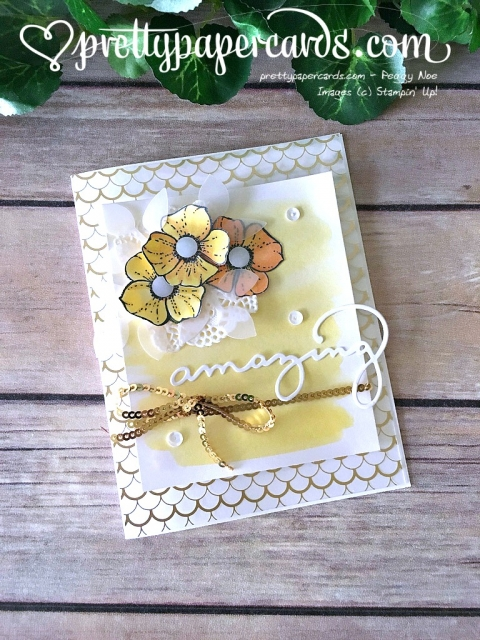 Stampin' Up! Celebrate You Card - Prettypapercards - stampinup