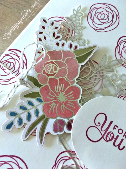 _Stampin' Up! For You Card Sweet Soiree - prettypapercards- stampinup