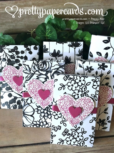 Stampin' Up! Lots to Love Valentine - Peggy Noe - stampinup