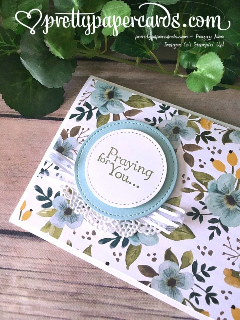 Stampin' Up! Praying for You - Peggy Noe - stampinup