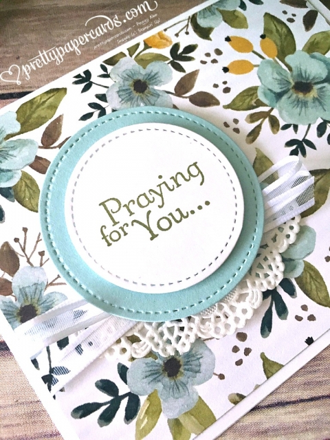 Stampin' Up! Praying for You - Prettypapercards - stampinup