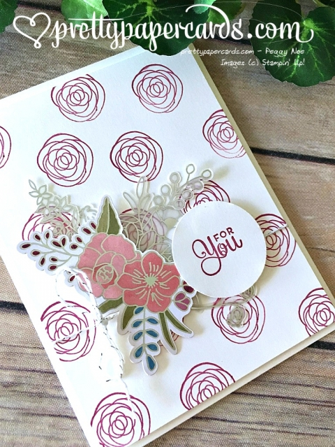 Stampin' Up! Sweet Soiree Card - prettypapercards - stampinup