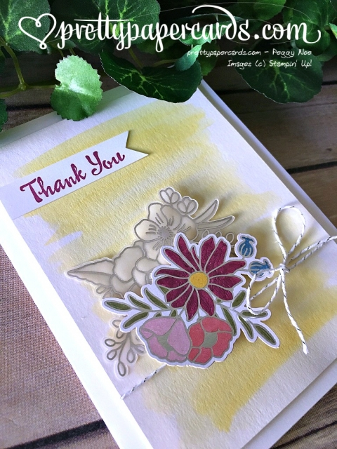 Stampin' Up! Sweet Soiree Embellishments Card - Peggy Noe- stampinup