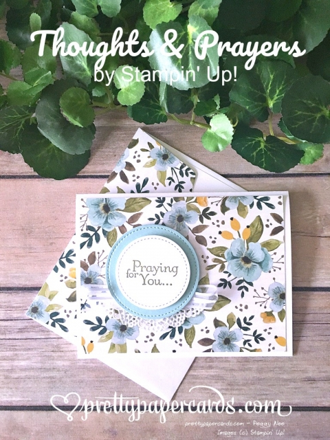 Stampin' Up! Thoughts and Prayers - Prettypapercards - stampinup