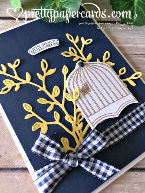 Stampin' Up! Badges & Banners Card - Prettypapercards - stampinup