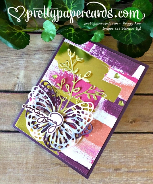 Stampin' Up! Butterfly Painted With Love - Peggy Noe - stampinup