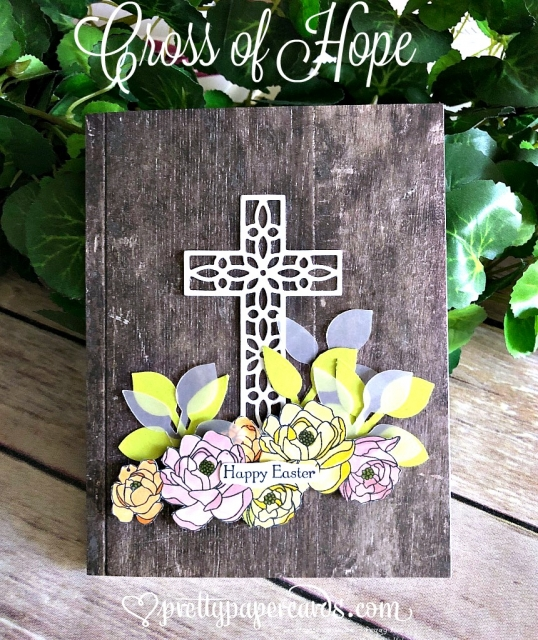 Stampin; Up! Cross of Hope - Peggy Noe - stampinup