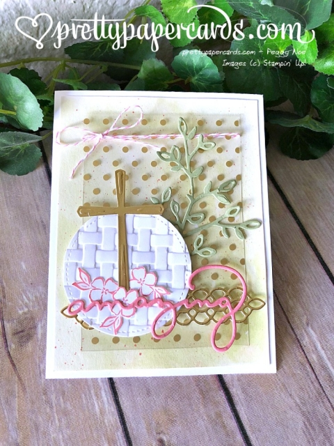 Stampin' Up! Cross of Hope Tic Tac Toe Card - Peggy Noe - stampinup