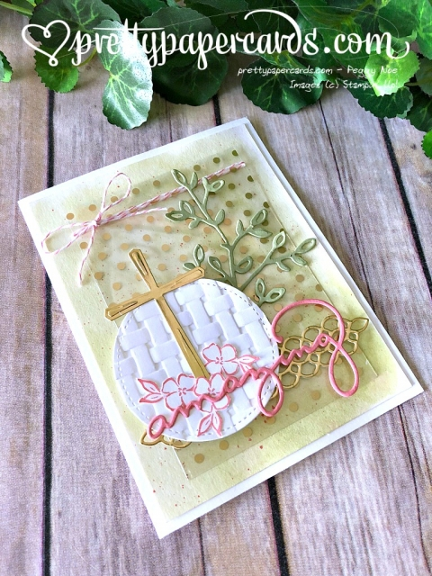 Stampin' Up! Cross of Hope Tic Tac Toe Card - Prettypapercards - stampinup