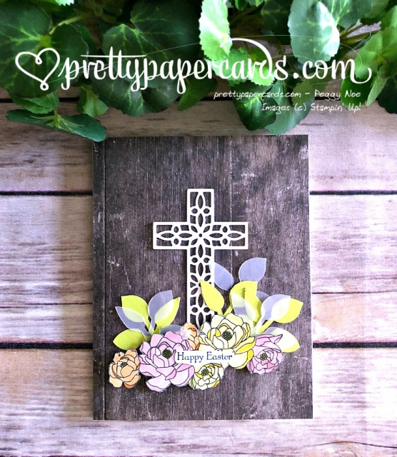 Stampin' Up! Easter Card - Peggy Noe - stampinup