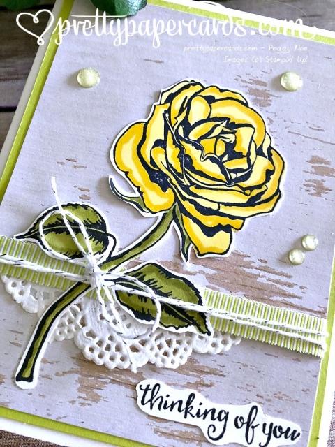 Stampin' Up! Graceful Garden Blog Hop - Peggy Noe - stampinup