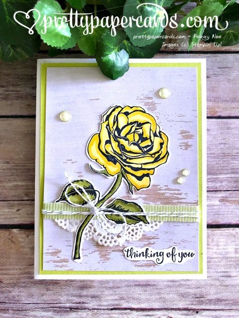 Stampin' Up! Graceful Garden Blog Hop - Prettypapercards - stampinup