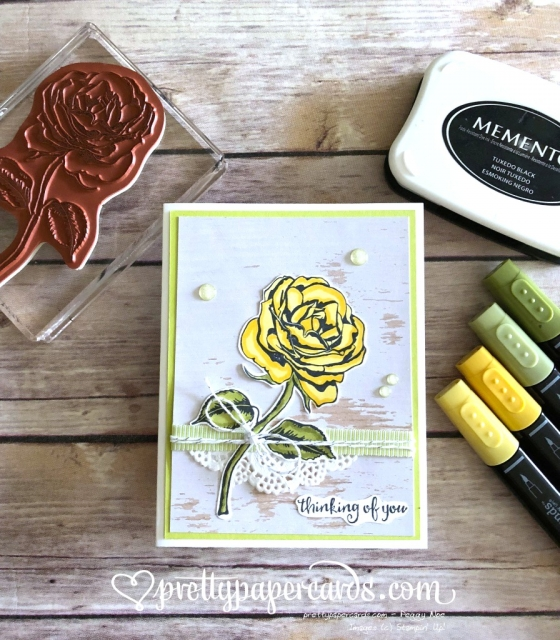 Stampin' Up! Graceful Garden - Prettypapercards - stampinup