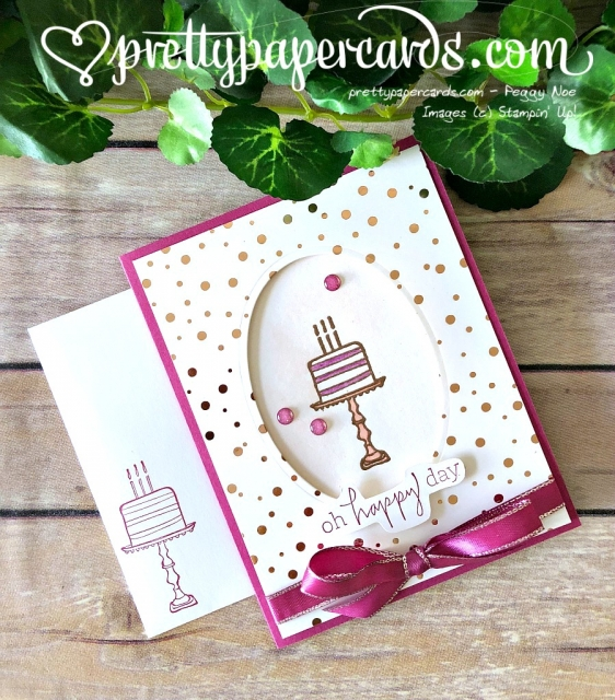 Stampin' Up! Happiest of Days - Prettypapercards - stampinup