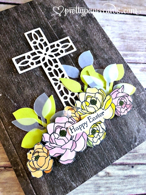 Stampin' Up! Happy Easter Card - Peggy Noe - stampinup