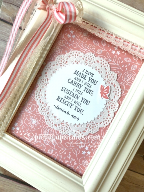 Stampin' Up! Hold on to Hope Home Project - Peggy Noe - stampinup