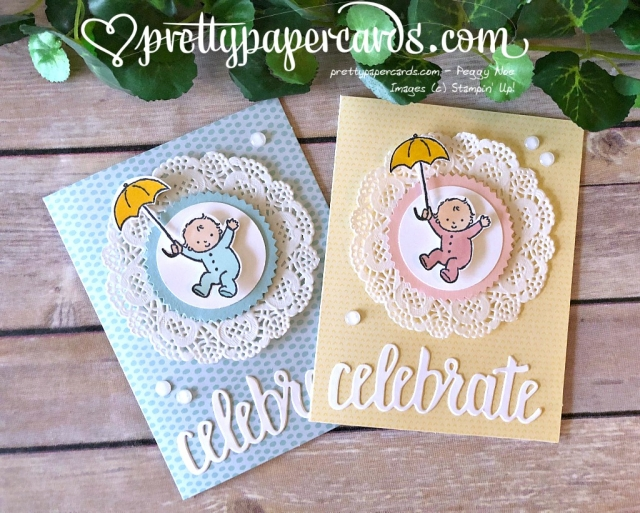 Stampin' Up! Moon Baby - Peggy Noe - stampinup