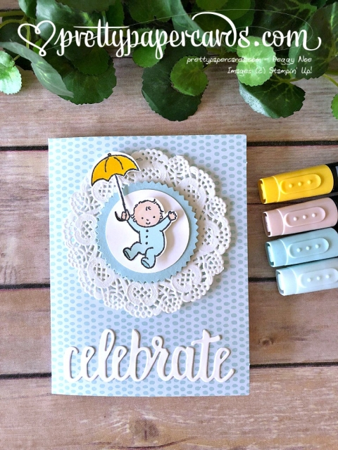Stampin' Up! Moon Baby - Prettypapercards - stampinup