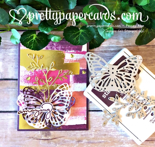 Stampin' Up! Painted With Love Butterfly - Peggy Noe - stampinup