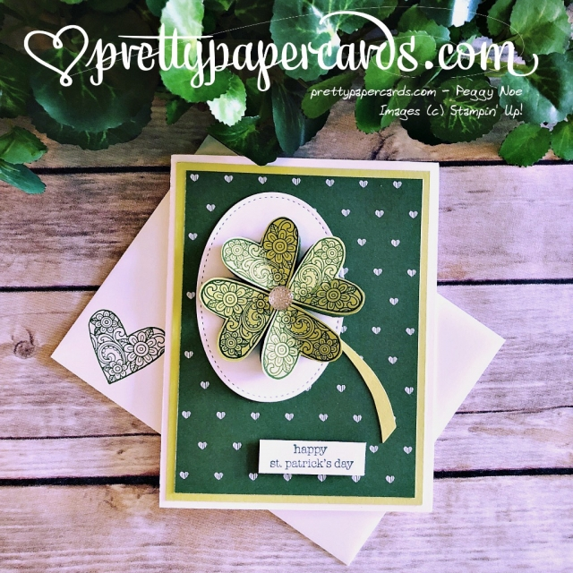 Stampin' Up! St Patricks Day Card - Peggy Noe - Stampinup
