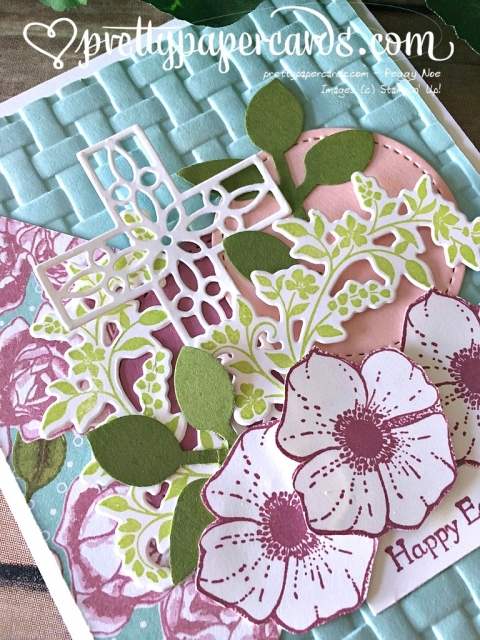 Stampin'Up! Easter card - Prettypapercards - stampinup