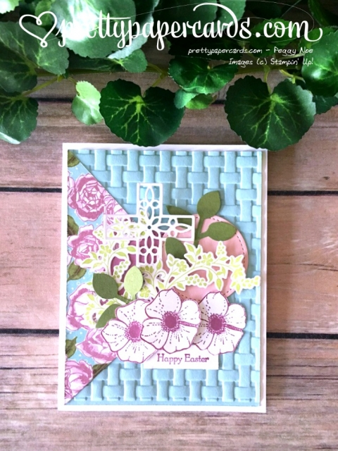 Stampin'Up! Happy Easter Card - Peggy Noe - stampinup