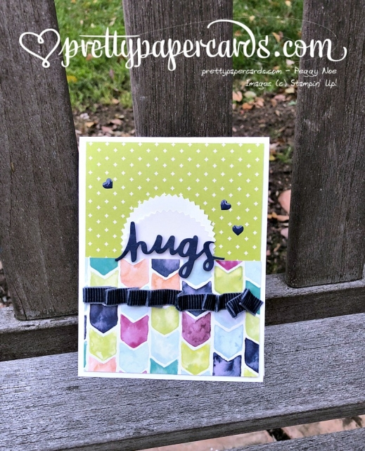 Stampin' Up! Autism Lovely Words Thinlits - Peggy Noe - stampinup