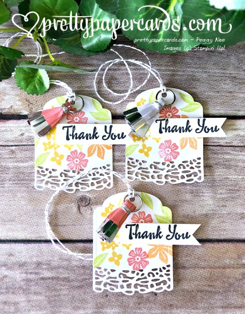 Stampin' Up! Beautiful Bouquet - Prettypapercards - stampinup