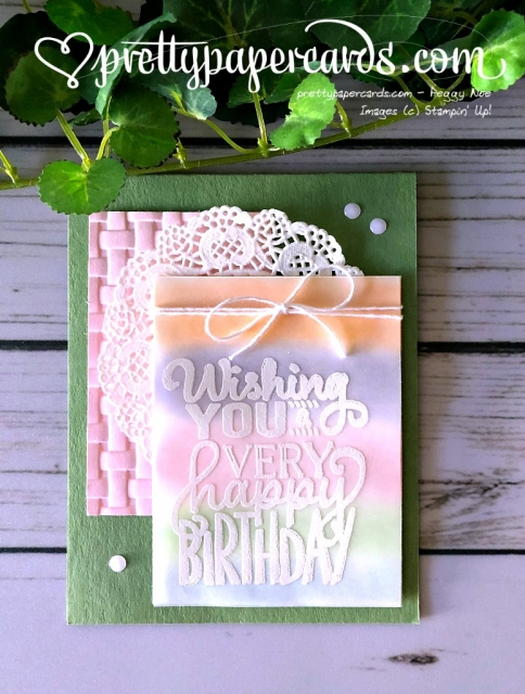 Stampin' Up! Big on Birthdays - Prettypapercards - stampinup